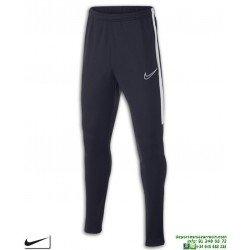 Pantalón Chandal Ajustado NIKE Academy Pants Junior Marino-Blanco niños AO0745-451