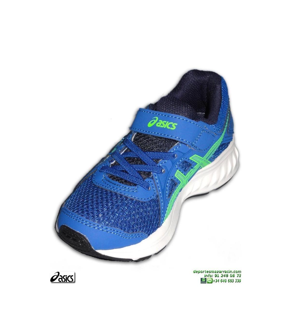 4c4e6066cd6 Zapatilla Running Niños ASICS JOLT 2 PS Velcro Azul deporte