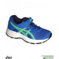 Zapatilla Running Niños ASICS JOLT 2 PS Velcro Azul deporte 1014A034-401 infantil