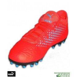 PUMA FUTURE 19.4 Niños Naranja Bota Futbol Tacos MG Griezmann luis suarez Tacos MG 105555-01