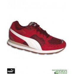 Zapatilla Moda Calle Puma VISTA Rojo Burdeos  sneakers hombre zapatilla clasica sport 369365-03