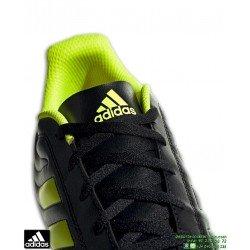 Adidas COPA 19.4 FG Bota Futbol Tacos Negro-Amarillo Hombre BB8091 clasica piel natural