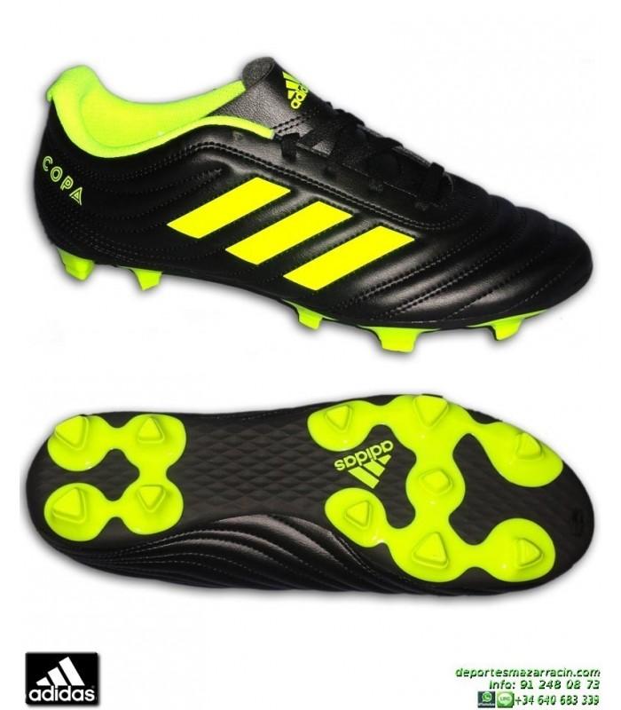 19 Adidas Fg Bota Hombre Negro Amarillo Bb8091 Futbol Copa Tacos 4 iOTPXkZu