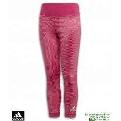 Malla Larga Chica ADIDAS YG TR BLD 7/8 TIGHT Rosa Estampada DV2748