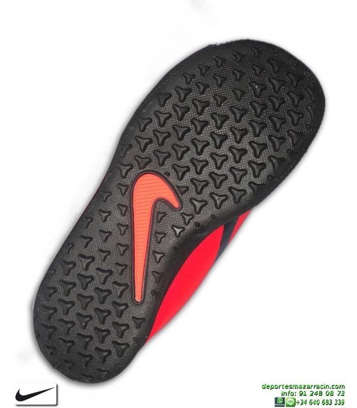 Nike PHANTOM VENOM CLUB Niño Roja Zapatilla Futbol Turf AO0400 600