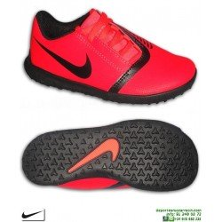 Nike PHANTOM VENOM CLUB Niño Roja Zapatilla Futbol Turf AO0400-600 bota junior