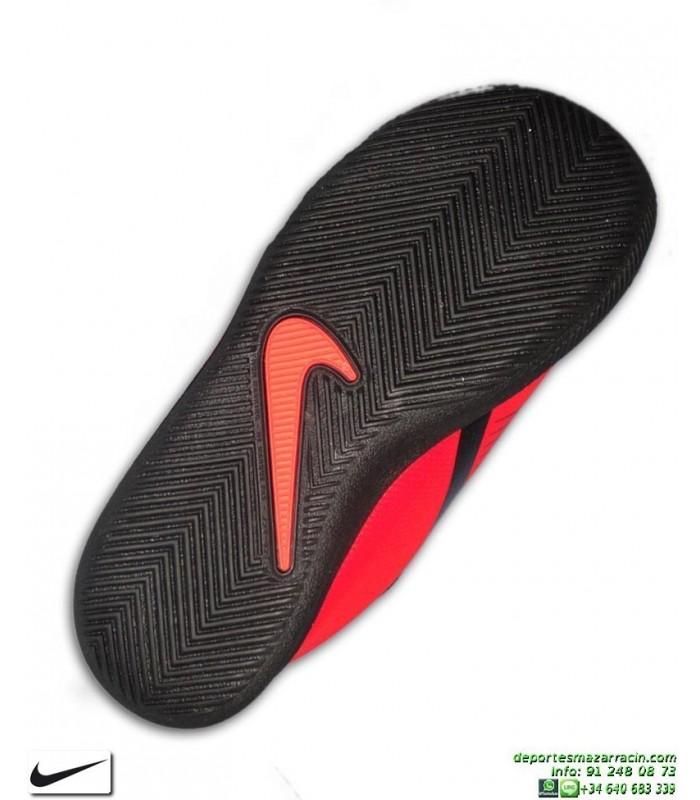 zapatillas nike rojas niño