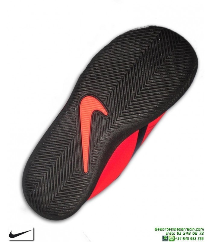 Nike PHANTOM VENOM CLUB Niño Roja Zapatilla Futbol Sala AO0399 600