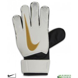 Guante Portero NIKE GK MATCH Junior Blanco-Oro