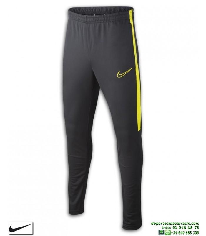 ventas al por mayor buena venta captura Pantalón Chandal Ajustado NIKE Academy Pants Junior Gris-Amarillo