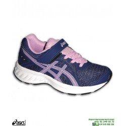 Zapatilla Running Niñas ASICS JOLT 2 PS Velcro Morado deporte