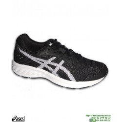 Zapatilla Running Junior ASICS JOLT 2 Negro-Blanco
