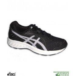 Zapatilla Running Junior ASICS JOLT 2 Negro-Blanco deporte 1014A035-002 chico chica mujer correr