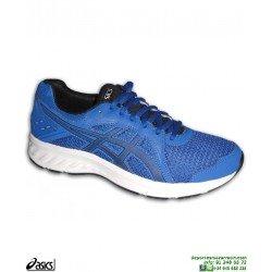 Zapatilla Running ASICS JOLT 2 Hombre Azul deporte correr 1011A167-400 chico