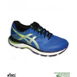 Zapatilla Running Asics GEL PULSE 10 Hombre Azul pisada neutra 1011A007-401 deportiva correr