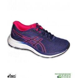 4dc5d310b Zapatilla Running Mujer ASICS GEL EXCITE 6 Azul-Rosa