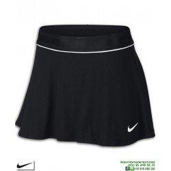 Falda Nike COURT FLOUNCY SKIRT WOMAN Negro Tenis Padel 939318-010 mujer
