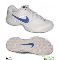 Zapatilla Tenis/Padel NIKE COURT LITE CLY 845026-054 Suela Espiga Blanca