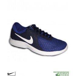 Zapatilla Deporte Nike REVOLUTION 4 EU Azul Royal Hombre AJ3490-414