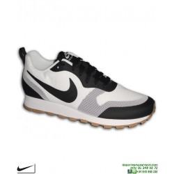 Deportiva Nike MD RUNNER 2 19 Blanco-Negro AO0265-100 sneakers moda calle