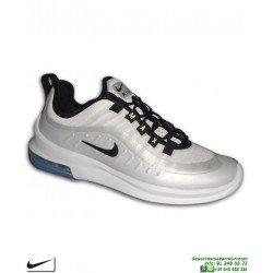 Nike AIR MAX AXIS PREMIUM Blanco-Plata Zapatilla Camara de Aire