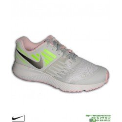 Zapatilla Deporte Chica Nike STAR RUNNER Gris-Rosa 907257-005 deportiva mujer junior running
