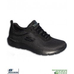Zapatilla Mujer Skechers Flex Appeal 3.0 First Insight Negra Completa 13070/BBK