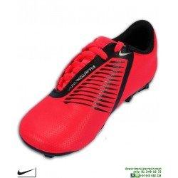Nike PHANTOM VSN CLUB Roja Bota Futbol Niños taco FGMG AO0396-600 junior hierba artificial
