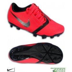 the latest d8d16 de939 Nike PHANTOM VENOM CLUB Niño Roja Bota Futbol Tacos