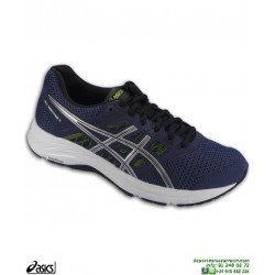 Zapatilla Running Asics GEL CONTEND 5 Azul Marino Hombre deportiva correr 1011A256-401