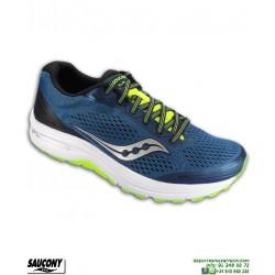 Zapatilla Running Saucony CLARION Azul Mixta Pisada Neutra S20447-2 hombre