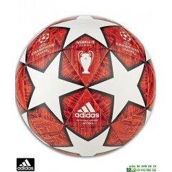 Balon CHAMPIONS LEAGUE 2018-19 ADIDAS FINALE MADRID Blanco-Rojo DN8674 personalizar