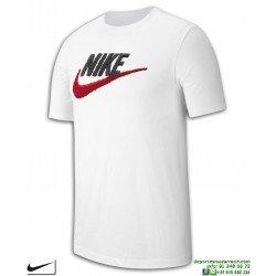 Camiseta NIKE Sportswear SWOOSH Blanca Hombre Algodon AR4993-100