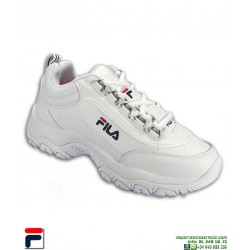 23567f4be Zapatilla FILA STRADA LOW Blanco disruptor 1010560.1FG shoes ...
