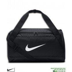 Bolsa Deporte Nike BRASILIA Negro-Blanco Pequeña MALETA BA5335-010 personalizar