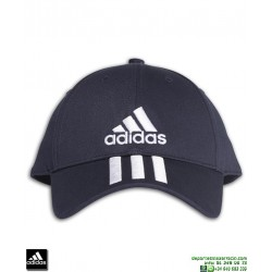Gorra ADIDAS 3 STRIPES CAP COTTON Azul Marino DU0198