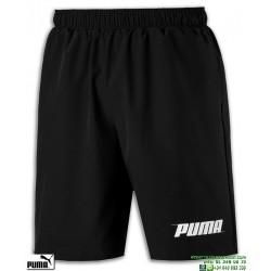 Pantalon Corto PUMA REBEL WOVEN SHORT Negro 843712-01 poliester