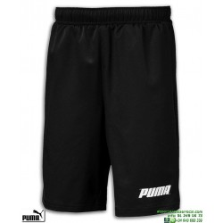 Pantalon Corto PUMA REBEL WOVEN SHORT Junior Negro 843757-01 poliester