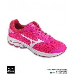 Mizuno WAVE RIDER 22 Chica Deportiva Running color Rosa talla Junior K1GC183307