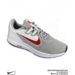 Nike DOWNSHIFTER 9 Zapatilla Deporte color Blanco con Gris para Hombre AQ7481-006 running