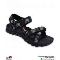 +8000 TATAY color Negro Sandalia para Hombre caminar andar playa antideslizante marca John Smith