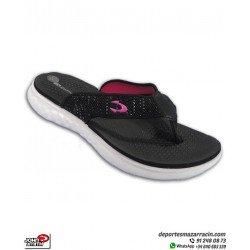 Chancla Mujer John Smith PIAR color Negro sandalia de dedo extracomoda femenina playa piscina