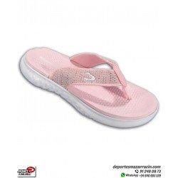 Chancla Mujer John Smith PIAR color Rosa sandalia de dedo extracomoda femenina