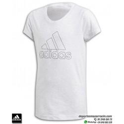 Camiseta Chica ADIDAS ID WINNER TEE Gris