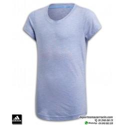 Camiseta Chica ADIDAS ID WINNER TEE Morado
