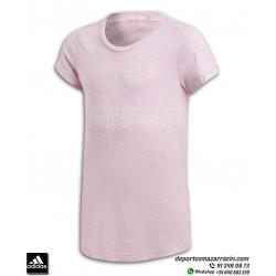 Camiseta Chica ADIDAS ID WINNER TEE Rosa