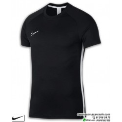 Camiseta Deporte NIKE DRY FIT ACADEMY Negro-Blanco Poliester