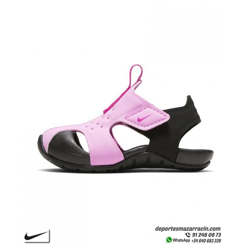 Infantil 2 Nike Sunray Niña Protect Negro Rosa Sandalia GqVUMjLSzp
