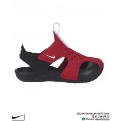 Sandalia Niño Nike SUNRAY PROTECT 2 infantil Rojo-Negro