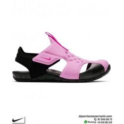 Sandalia Nike SUNRAY PROTECT 2 junior Niña Rosa-Negro